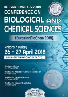 1st International Eurasian Conference on Biological and Chemical Sciences